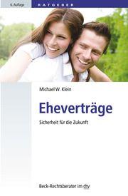 Eheverträge Klein, Michael W 9783423512442
