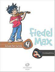 Fiedel-Max 4 Violine - Klavierbegleitung Holzer-Rhomberg, Andrea 9783920470627