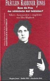 Fräulein Rabbiner Jonas Elisa Klapheck 9783933471178