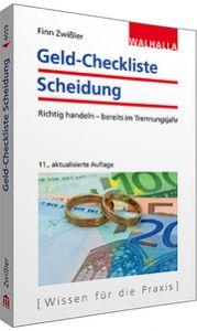 Geld-Checkliste Scheidung Zwißler, Finn 9783802940590