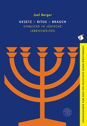 Gesetz - Ritus - Brauch Berger, Joel 9783825369699