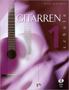 Gitarrenschule 1 Schindler, Klaus 9783934958104