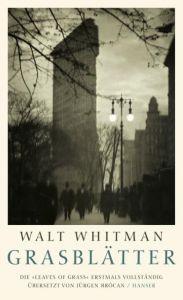 Grasblätter Whitman, Walt 9783446234109