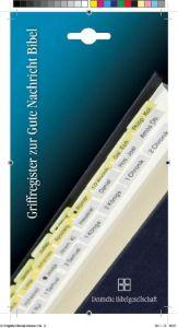 Griffregister zur Gute Nachricht Bibel  9783438063045