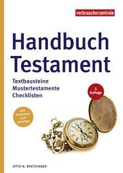Handbuch Testament Bretzinger, Otto N 9783863361495