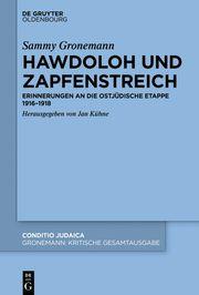 Hawdoloh und Zapfenstreich Gronemann, Sammy 9783110625516