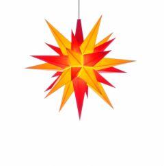 Herrnhuter Einzelstern A1e gelb-rot vormontiert inkl. LED