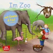 Im Zoo mit Emma und Paul. Mini-Bilderbuch. Lehner, Monika 9783769824315