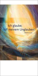 Jahreslosung 2020 - Faltkarte mit Betrachtung 5er-Set Münch, Eberhard 4260308357312
