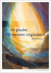 Jahreslosung 2020 - Kunstdruck A3 Münch, Eberhard 4260308357282