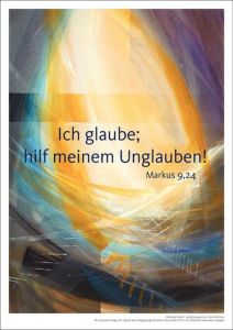 Jahreslosung 2020 - Kunstdruck A4 Münch, Eberhard 4260308357299