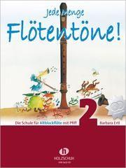Jede Menge Flötentöne 2 - Altblockflöte Ertl, Barbara 9783864340048