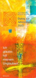 Cover Dialog zur Jahreslosung 2020