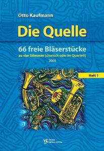 Cover Die Quelle - 66 freie Bläserstücke