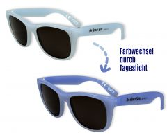Kinder-Sonnenbrille 'Farbwechsel' blau