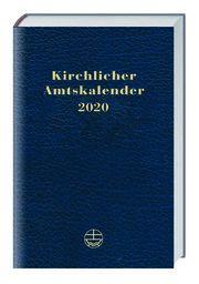 Kirchlicher Amtskalender 2020 - blau  9783374057160
