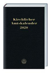 Kirchlicher Amtskalender 2020 - schwarz  9783374057177