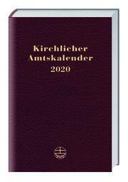 Kirchlicher Amtskalender 2020 - rot  9783374057184