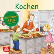 Kochen mit Emma und Paul. Mini-Bilderbuch. Lehner, Monika 9783769824322