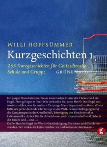 Kurzgeschichten 1 Willi Hoffsümmer 9783786708896