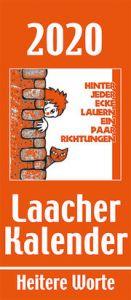 Laacher Kalender: Heitere Worte 2020 Heinen, Beate 9783865343086