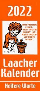 Laacher Kalender Heitere Worte 2022 Heinen, Beate 9783865343437