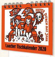 Laacher Tischkalender: Heiter durch das Jahr 2020 Heinen, Beate 9783865343130