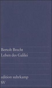 Leben des Galilei Brecht, Bertolt 9783518100011