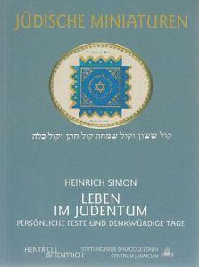 Leben im Judentum Simon, Heinrich 9783933471666
