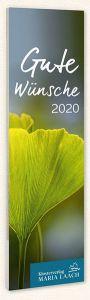 Lesezeichenkalender - Gute Wünsche 2020 Wolf, Abt Notker 9783865343161