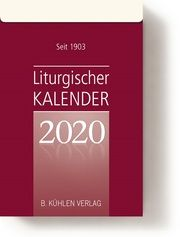 Liturgischer Kalender 2020  9783874485104