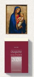 Liturgischer Kalender Großdruckausgabe 2020  9783874485142