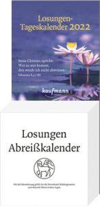 Losungen-Tageskalender 2022  9783780640222