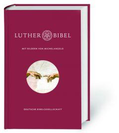 Lutherbibel mit Bildern von Michelangelo Martin Luther 9783438033178