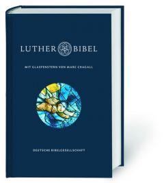 Lutherbibel mit Glasfenstern von Marc Chagall Martin Luther 9783438033161