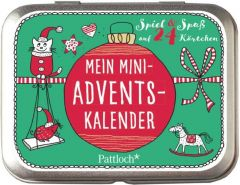 Mein Mini-Advents-Kalender Rechl, Christine 4260308348563