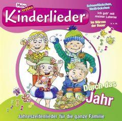 Meine ersten Kinderlieder - Durch das Jahr Kinderliederbande 0888837696326