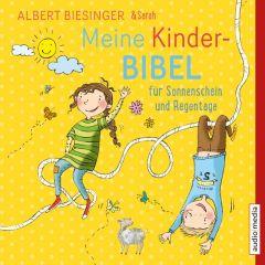 Meine Kinderbibel für Sonnenschein und Regentage Biesinger, Albert/Biesinger, Sarah 9783956392467