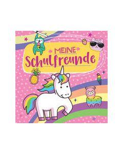 Meine Schulfreunde für Mädchen (Motiv Einhorn)  9783849925796