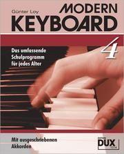 Modern Keyboard 4 Loy, Günter 9783934958159