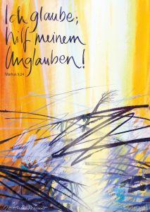 Jahreslosung 2020 Motiv Verwurzelt Kunstblatt 60 x 90 cm