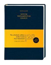 Novum Testamentum Graece Nestle, Eberhard/Nestle, Erwin 9783438051585