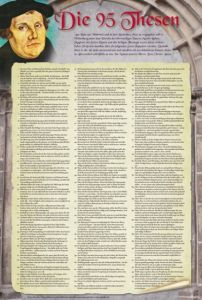 Die 95 Thesen nach Martin Luther  4260240876063