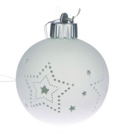 Porzellankugel 'Große Sterne'  4036526707556