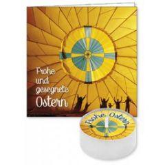 Lichtgruß 'Frohe und gesegnete Ostern'
