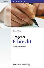 Ratgeber Erbrecht Ritter, Heiko 9783423512497