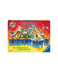 Ravensburger 26955 Das verrückte Labyrinth - Spieleklassiker für 2 - 4 Personen ab 7 Jahren  4005556269556
