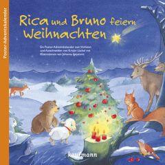 Rica und Bruno feiern Weihnachten Lückel, Kristin/Ignjatovic, Johanna 9783780609601