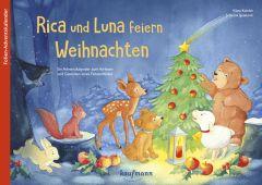 Rica und Luna feiern Weihnachten Kamlah, Klara/Ignjatovic, Johanna 9783780609472