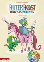 Ritter Rost und das Einhorn Janosa, Felix/Hilbert, Jörg 9783219118483